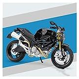 1:12 para Ducati Hypermotard SP Aleación Diecast Motocicleta Modelo Formal Asesor De Colección De Juguetes Colección De Juguetes (Color : 4)