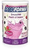 Pesoforma Smoothie Pasto Sostitutivo Dimagrante Shake Frutti di Bosco 201 Kcal, 16 Pasti...