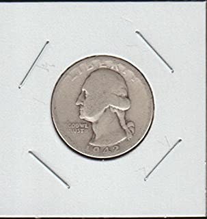 1942 D Washington (1932 to Date) Quarter Good
