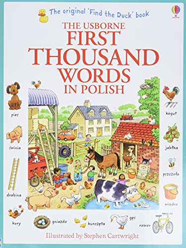 Compare Textbook Prices for First Thousand Words in Polish Usborne First Thousand Words  ISBN 9781409566137 by Heather Amery