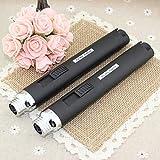 Black Pencil Lighter JET Torch Flame Butane Gas Refill Lighter Welding Torch Pen