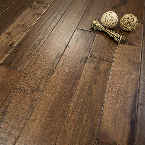 "Hickory Character (Old West) Prefinished Solid Wood Flooring 5"" x 3/4 Samples at Discount Prices by Hurst Hardwoods"