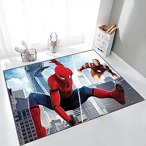 Alfombra De Juego para Niños Spiderman Alfombra De Guardería Alfombras De Piso Alfombras De Impresión 3D Alfombras De Cocina De Baño De Dormitorio (Color : 05, Size : 50x80cm)