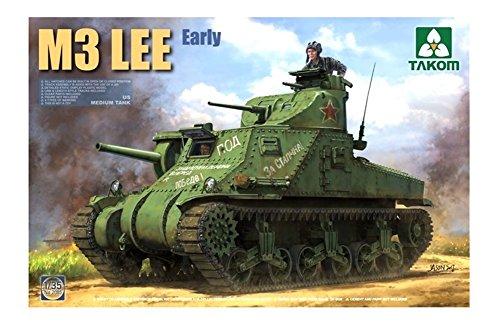 Takom TAK-2085 - Modellino di carro armato americano M3 LEE Early