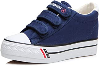 Unparalleled beauty Women's Canvas Low Top Sneaker Velcro Classic High Top Shoes