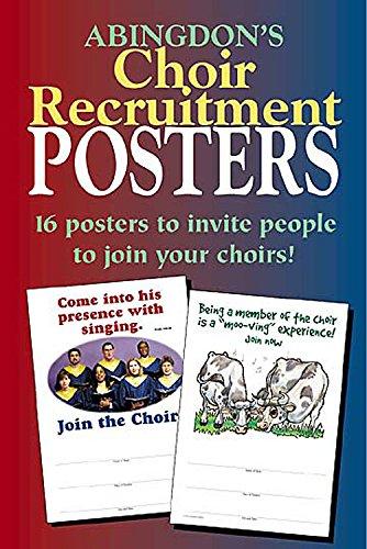 Abingdon's Choir Recruitment Posters