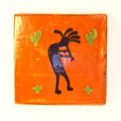 Mexikanischen handgemachten Talavera, 10.5cm Fliesen - Einzelfliese