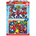 Educa - Marvel Super Heroe Adventures Puzzles, 2x20 Piezas,…