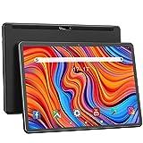 Tablet Android 10.0 10.1 pulgadas, Octa-Core 1920x1200 HD Tablets grandes con cámara trasera de 13MP, batería de 6000mAh, ROM de 32GB/128GB Expandir almacenamiento, Bluetooth / GPS / FM / OTG