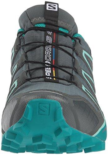 Salomon Speedcross 4 GTX, Zapatillas de Trail Running Mujer, Verde (Balsam Green/Tropical Green/Beach Glass), 36 2/3 EU