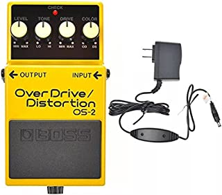 Boss OS-2 Overdrive/Distortion and Boss PSA-120S2 Power Supply