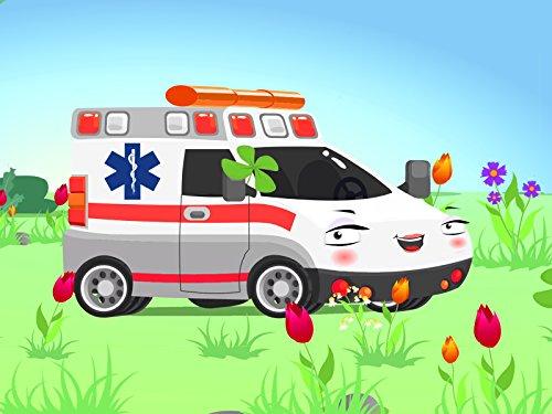 Der Krankenwagen Lila