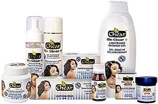 Bio Chear+ Skin Lightening Set (8) - Lotion, Cream Jar,