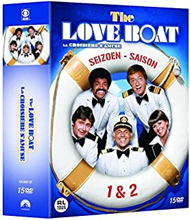 The Love Boat - Complete Series 1 + 2 (15 DVD Box Set)