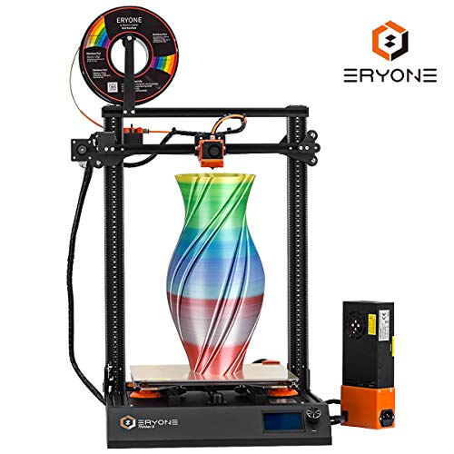 Eryone Thinker S Quiet 3D Printer Removable Printing Surface with Resume Print 300x300x400mm