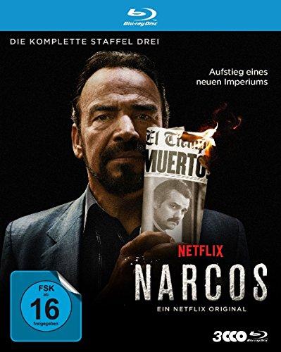 Narcos - Die komplette Staffel Drei [Blu-ray]