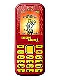 Lexibook Marvel Avengers Iron Man Téléphone Portable 2G, double SIM, appareil photo, batterie rechargeable , bleu/noir, GSM20AV