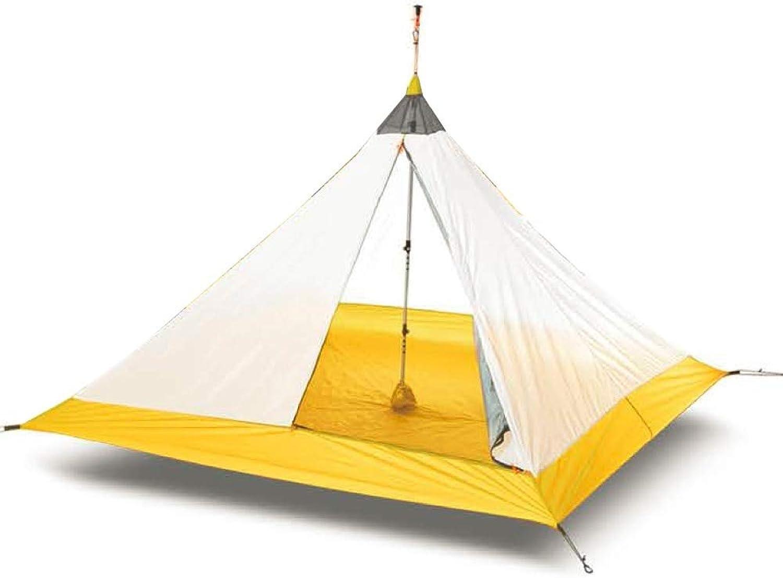 Ashuang Ultraleichtflugzeuge Im Freien Camping Tipi Pyramide Zelt 3-4 Personen Groes Zelt Wandern Innenzelt Zelt