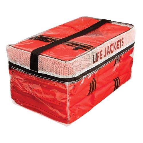 Kent Life Jackets w Storage Bag - 4 Adult Type II Vests