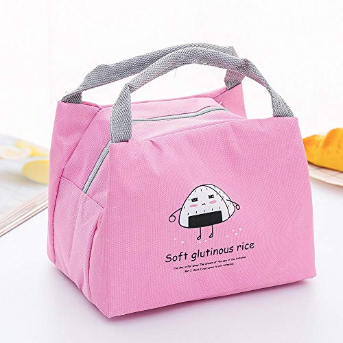 Thick Insulation Package Portable small Lunch Box Bag Outdoor Insulation Package, hot and Cold Bag |, Insulated Radiator, Lunch Bag@Gourmet Rice Ball