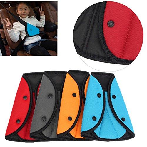 Kungfu Mall Kind Auto Sicherheitsgurt Clip Sicherheit Gurt Justierbarer Baby Autositz Einstellbar Gürtel Car Teller Autositz Pad