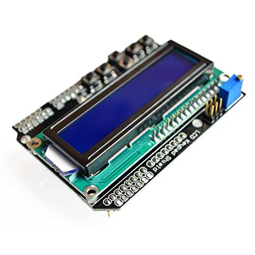 DIYUKMALL 10pcs/Lot LCD Keypad Shield LCD 1602 Character The LCD Input and Output Expansion Board UNO MEGA2560