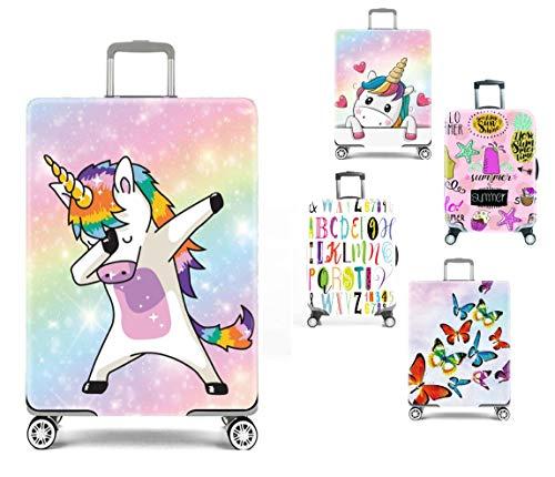 Elastische kofferbeschermhoes. Duurzaam, wasbaar, met ritssluiting. De stijlvolle en passende kofferhoes voor je bagage.