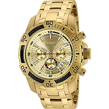 Invicta Men s Pro Diver Quartz Diving Watch with Stainless-Steel Strap Silver 26  Model  24860