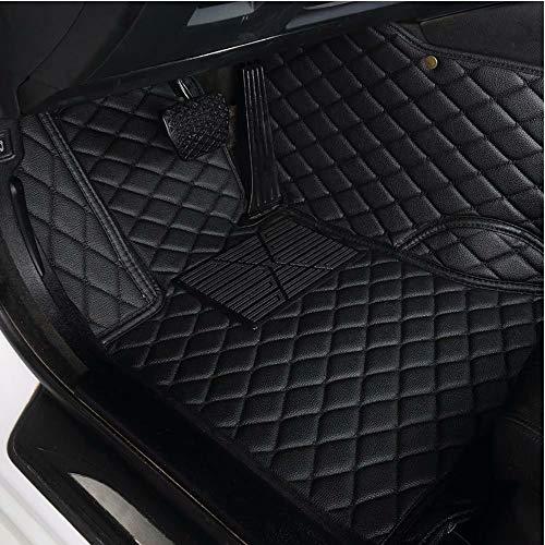 CNANCOO wasserdichte Custom Fit XPE Leder Auto Fußmatten Allwetter 3D Full Surrounded Vorne Hinten...