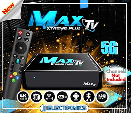 Generic MAX TV Silver 2.4GHZ 4K Ultra-HD Box+Android 7.1 2GB8GB