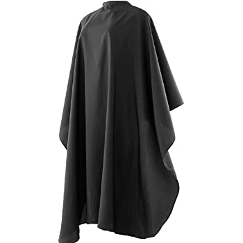 """ACTIOM Professional Barber Cape with Snap Closure, Hair Cutting Cape Salon Hairdressing Cape Hair Cape for Home - 59"""" x 47"""", Pack of 1"""