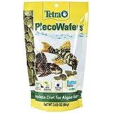 Tetra PlecoWafers 3.03 Ounces, Nutritionally Balanced Fish Food For Algae Eaters (679345)