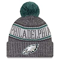 New Era Philadelphia Eagles 2018 NFL Sideline Cold Weather Graphite Sport Knit Hat – Graphite