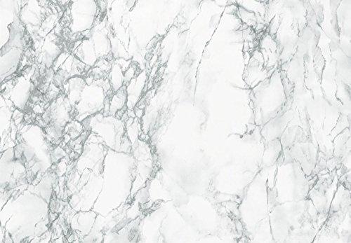 d-c-fix, Folie, Marmi weiß, selbstklebend, 90 cm breit, je lfm