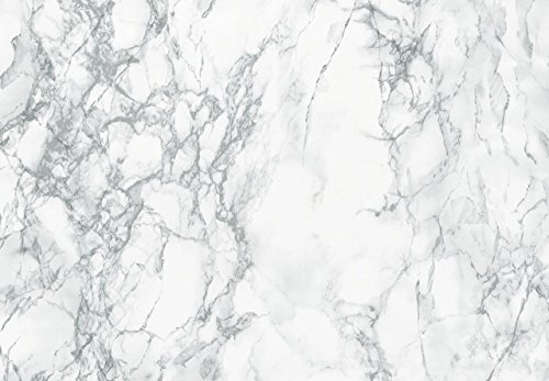 Decorative Self-Adhesive Film, Grey Marble, 17