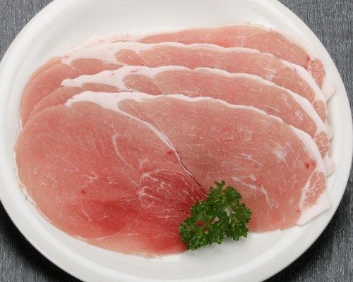 鹿児島産 業務用 豚もも肉(スライス)1kg