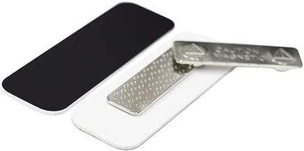 Name Tag/Badge Blanks - 25 Pack - Black 1