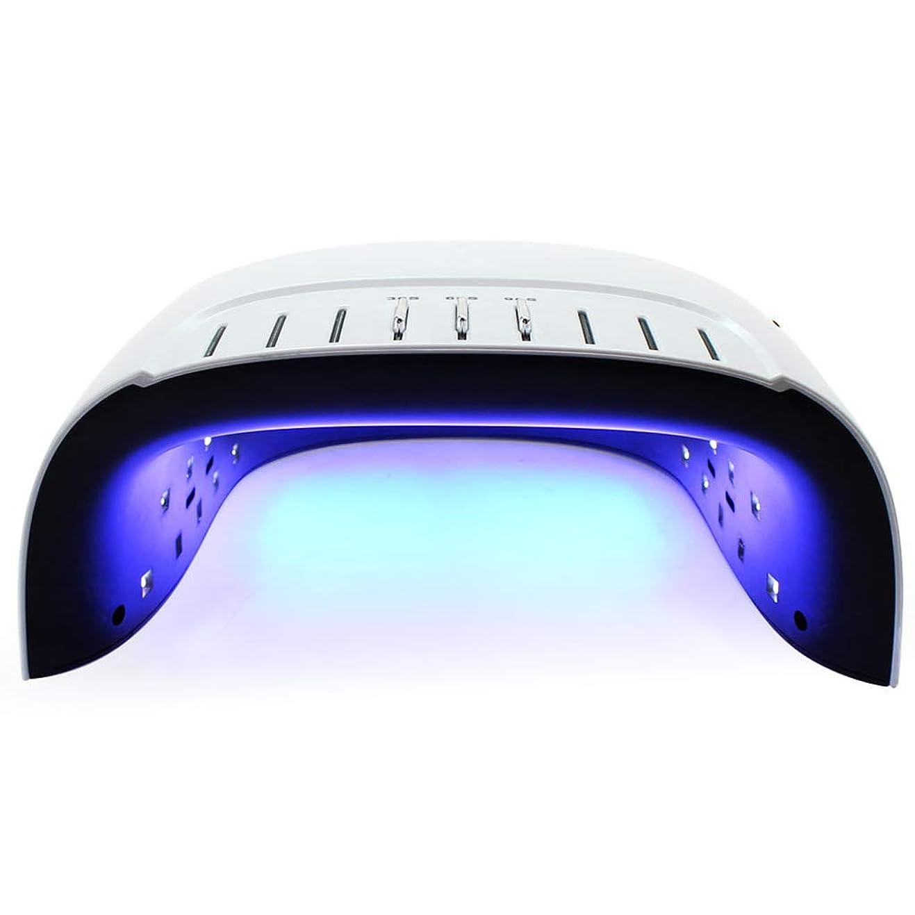スマートネイル光線治療マシン、60Wオートセンシングデジタルディスプレイ痛み防止モード速乾性ネイルツール
