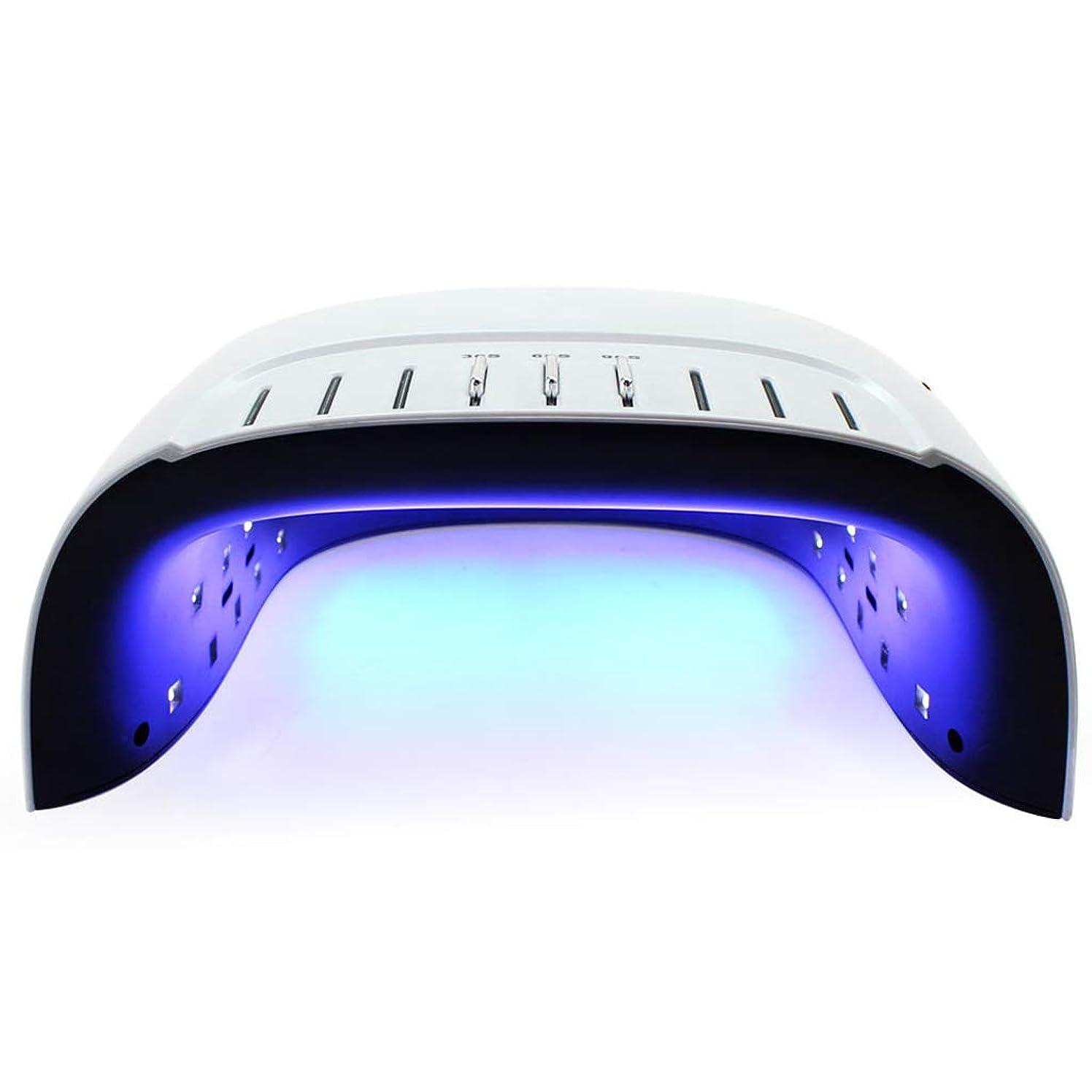 サスペンド水星ジョブスマートネイル光線治療マシン、60Wオートセンシングデジタルディスプレイ痛み防止モード速乾性ネイルツール