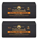 Pack of 2 Tillamook Extra Sharp Cheddar Cheese 2 Lb Baby Loaves Special Reserve