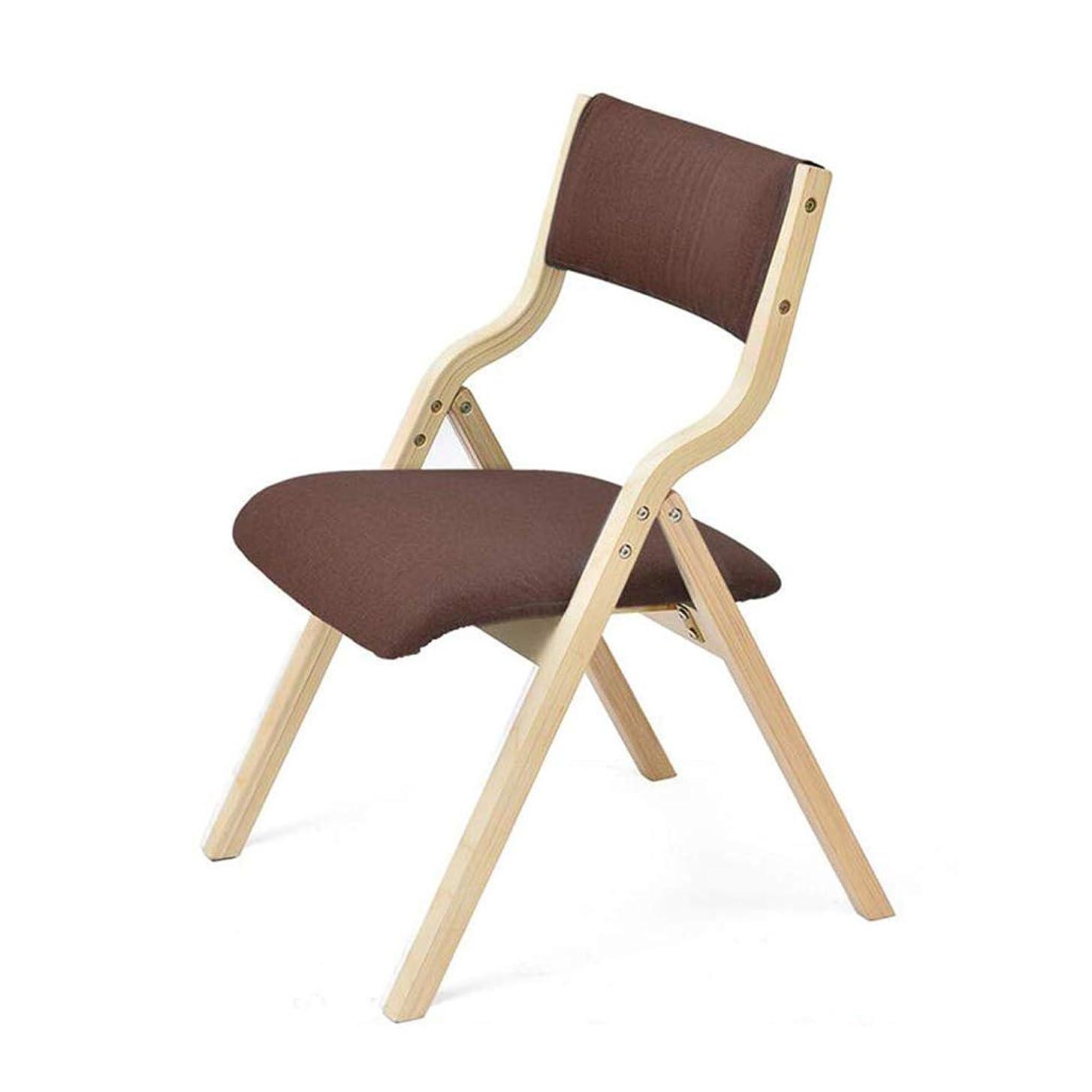 作り上げる反射誰が純木折りたたみ椅子生地キッチンダイニングチェアオフィスチェアコンピュータチェア、屋外ポータブルレジャーチェア,D