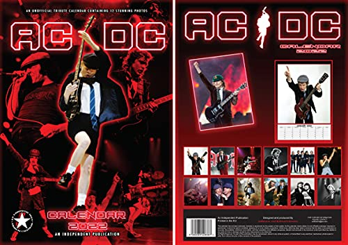 Calendario AC/DC 2022