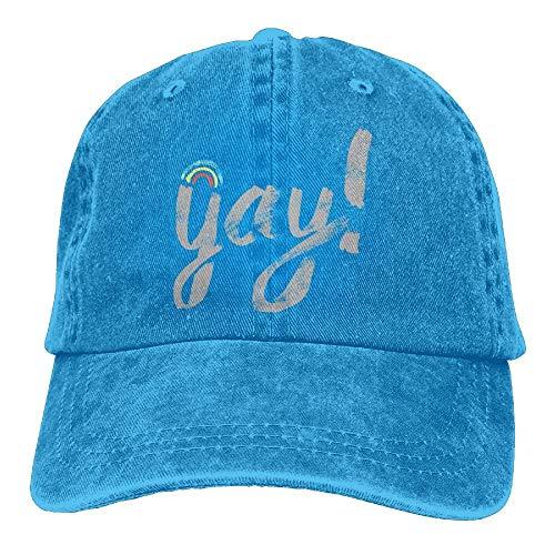 bowlife Gay Vintage Cowboy Baseball Caps Trucker Hats