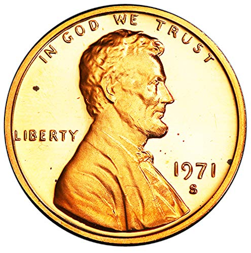 1971 S Proof Lincoln Memorial Cent Choice Uncirculated US Mint
