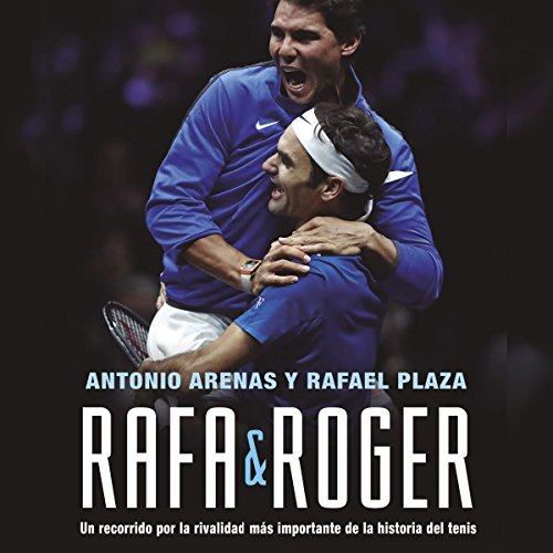 Rafa & Roger audiobook cover art