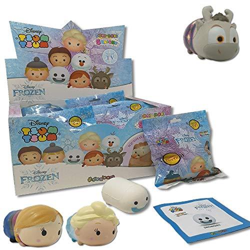 SBABAM- Squishy Tsum Frozen II Disney - Paquete de 3 sobres para coleccionar, 051-19 , color/modelo surtido