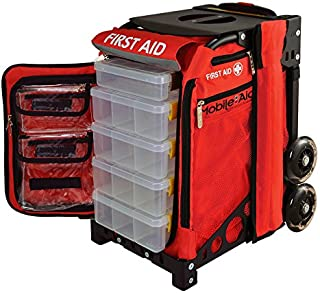 MobileAid Hi-Visibility Pro 100 EASY-ROLL Trauma First Aid Station (31600)