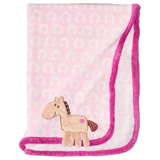 Hudson-Baby-Coral-Fleece-3D-Animal-Blanket-Pink
