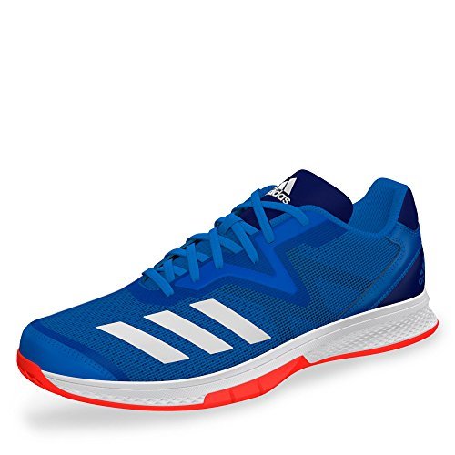 adidas Herren Counterblast Exadic Handballschuhe, Blau (Azubri/Ftwbla/Rojsol 000), 44 2/3 EU
