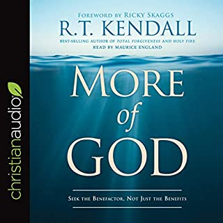 More of God audiobook cover art